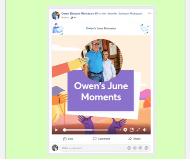 2019 Facebook June Moments Video Rolls Out to Android, iOS, and the Web
