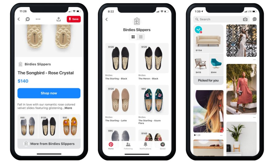 Pinterest Introduces Browsable Catalogs, putting Prices Right Out Upfront