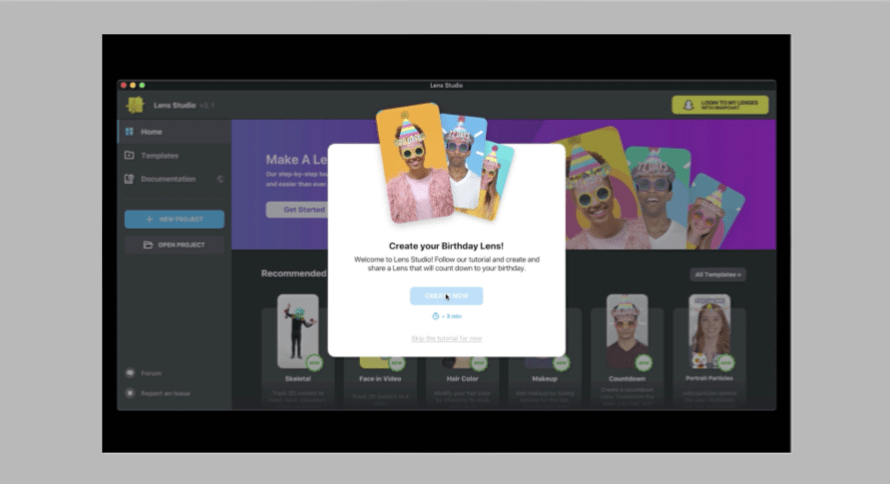 Snap just Made it Easier for Novices to Use Lens Studio