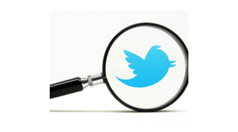 Twitter direct message search
