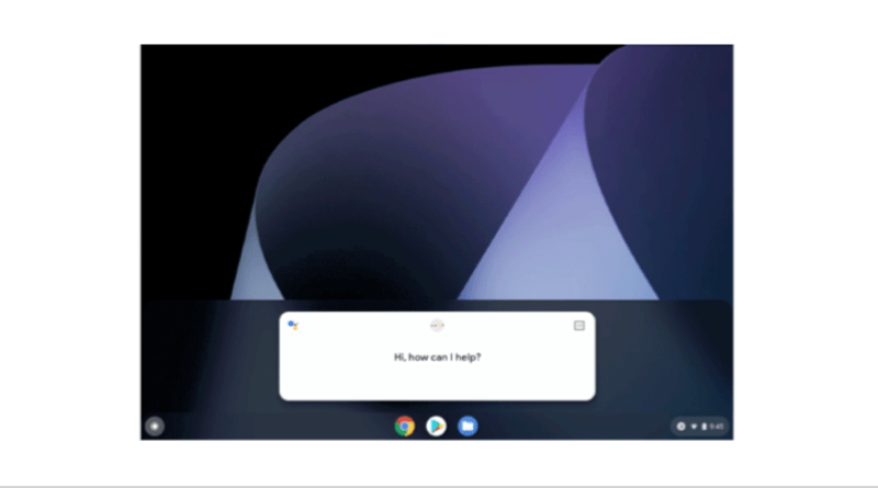 Google Assistant Chromebook support