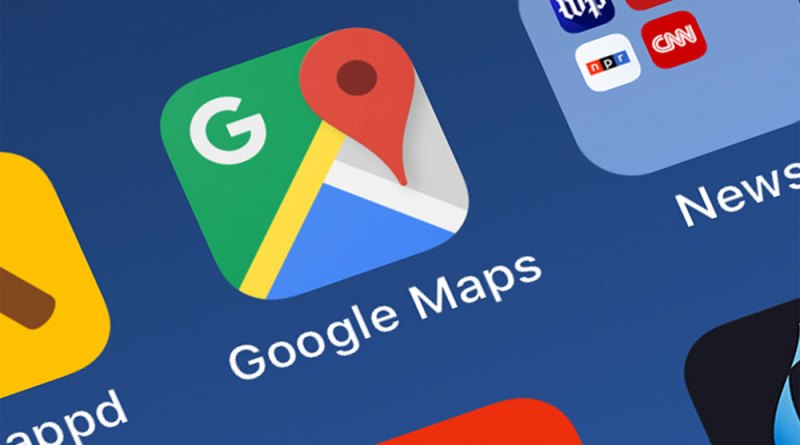 Google Maps incident reports