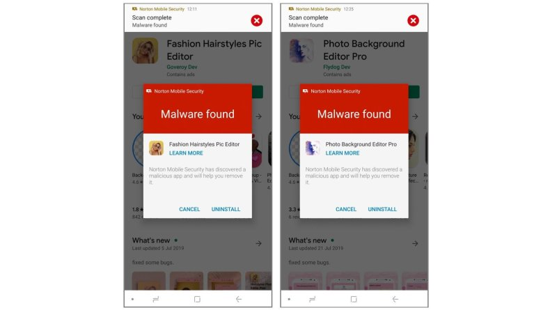malware-infected Android apps
