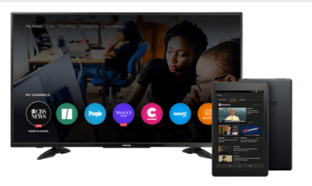 Amazon Fire TV ad-supported news video app