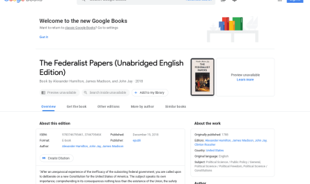 Google Books Material Theme redesign