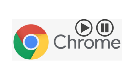 Google Chrome pause play