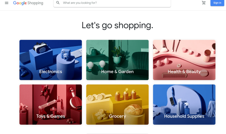 Google Latest take on Online Shopping goes Live in the US