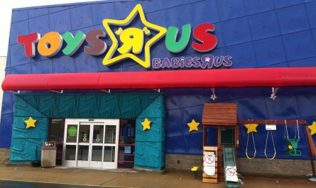 new Toys R Us website powered by Target