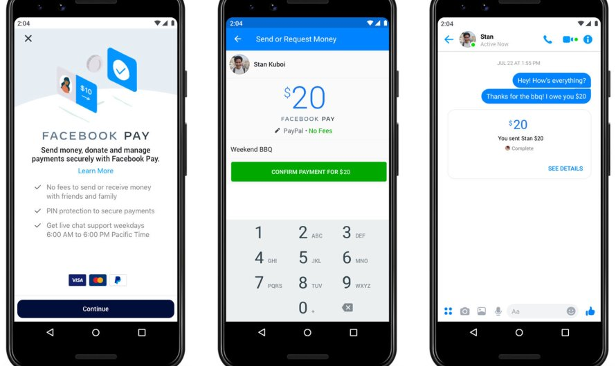 Facebook Introduces Pay, Allowing Users to Buy Things and Send and Receive Money Inside Facebook's Apps