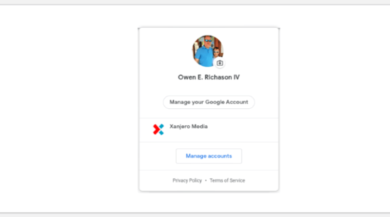 Google Account switcher material design makeover goes live
