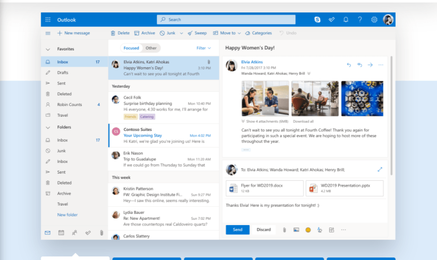 Microsoft Transformed Outlook.com into a Glorious PWA