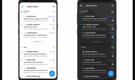 Spark mobile email app redesign