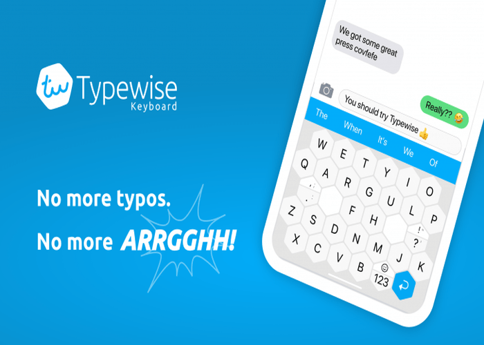 Quirky New Typewise Keyboard App Ditches QWERTY Layout and Promises to Reduce Typos by 80 Percent