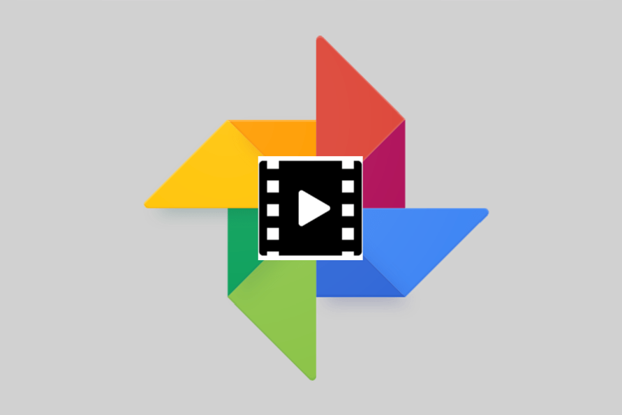 Google Photos pinch-to-zoom video