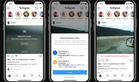 Instagram Hiding Faked Images on its Explore Page Deemed False by Fact Checkers