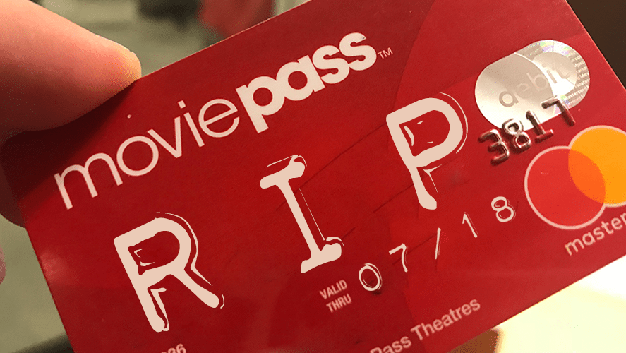 MoviePass is Officially Dead as the Company Officially Files for Chapter 7 Bankruptcy