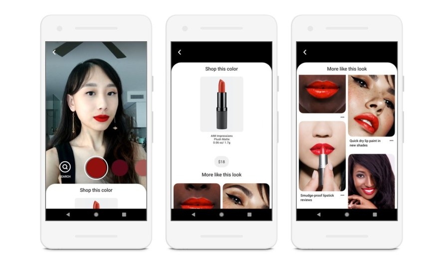 Pinterest Introduces a New Feature that Lets Users Virtually Try On Makeup through its Lens Technology