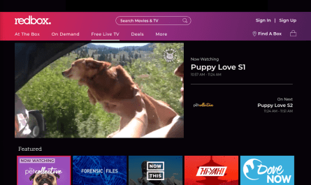 Redbox Free Live TV Streaming Service Debuts
