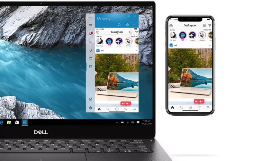 It's Now Possible to Control an iPhone from Dell PCs with a New Mobile Connect Feature