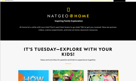 New National Geographic Homeschooling Portal goes Live