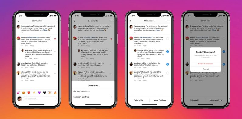 Instagram bulk comment delete and pinned comments tools