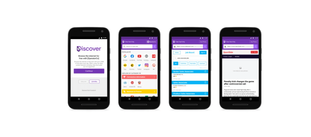 New Facebook Discover Android App Provides Free Data