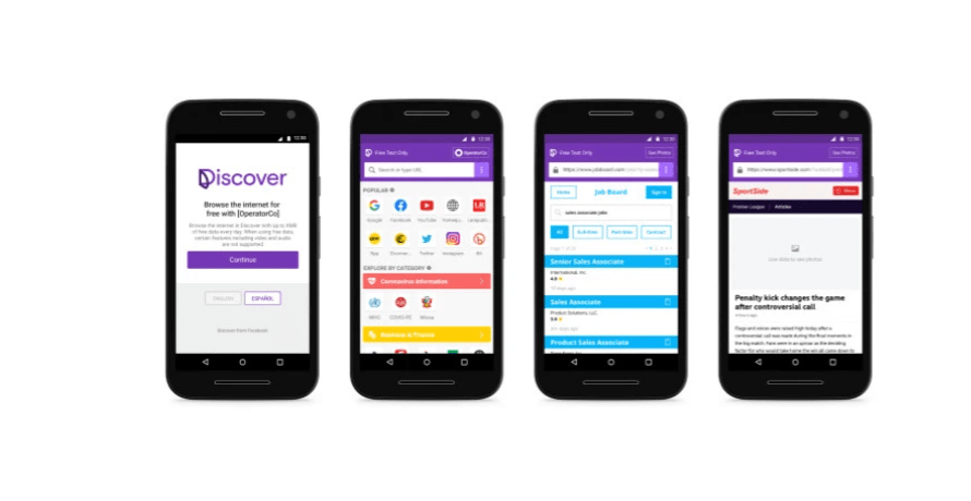 Facebook Unveils 'Discover' a New Version of its Free Basics Internet Service