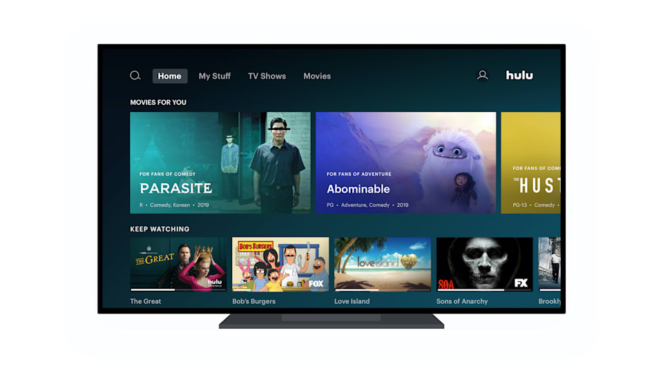 New Hulu Roku and Apple TV Home Screen is Now Rolling Out