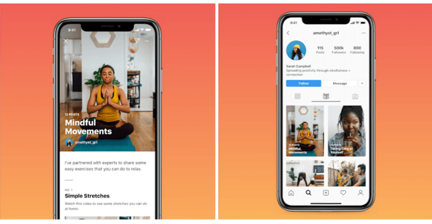 Instagram Unveils 'Guides,' Long-Form Posts on Wellness Tips