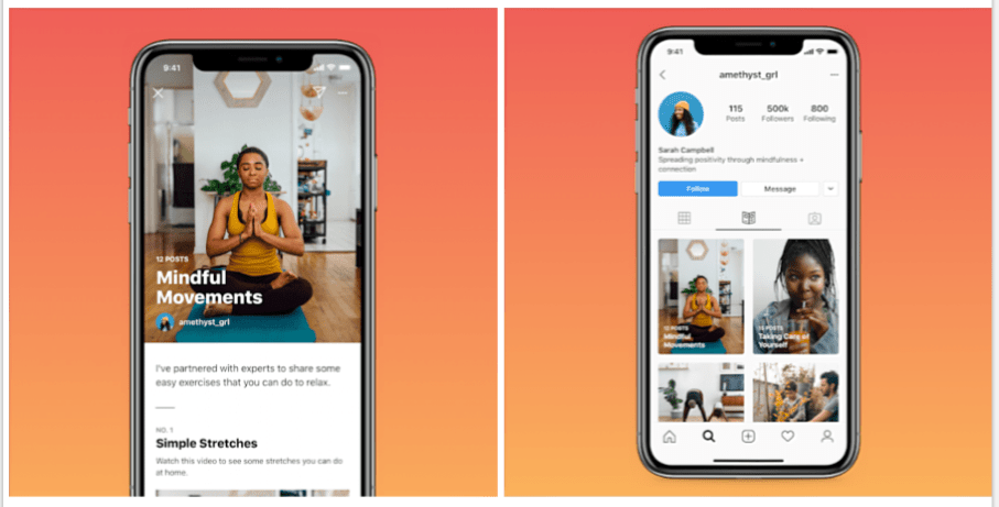 new Instagram Guides long-form posts debut