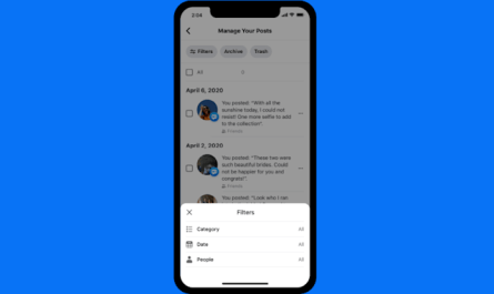 New Facebook Manage Activity Tool Let's Users Bulk Delete and Archive Old Posts