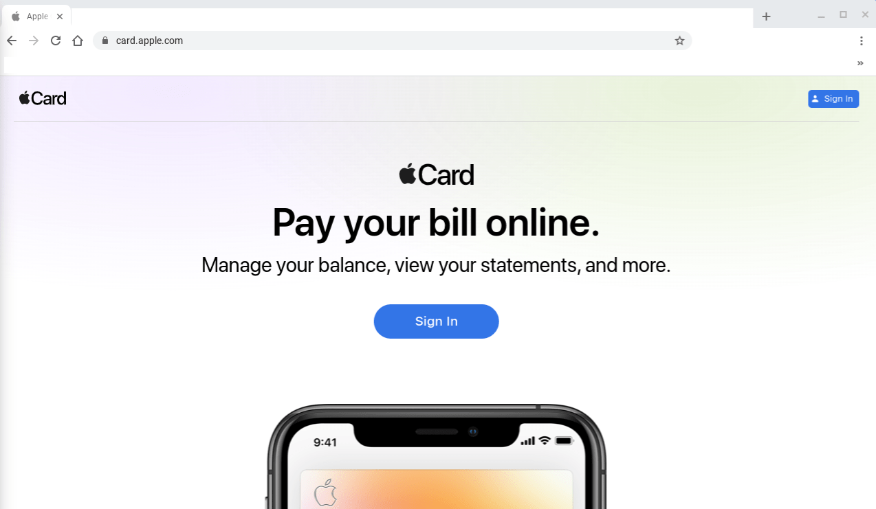 Apple Launches a Dedicated Apple Card Website