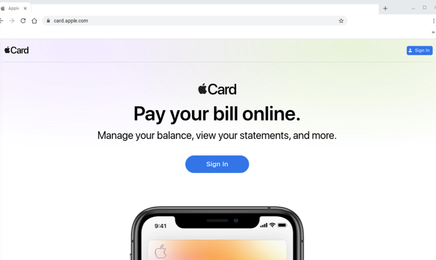 A Year After Apple First Introduced its Card, there's Now a Website to Manage It