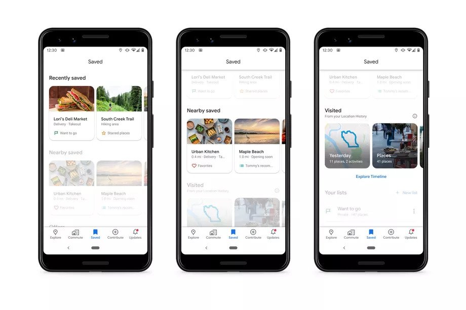 Google Maps Saved Places Update Expands the Tab's Usefulness