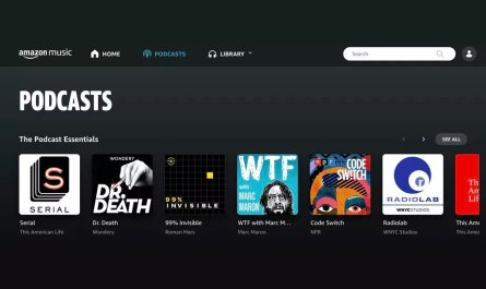 Amazon Music podcasts debut