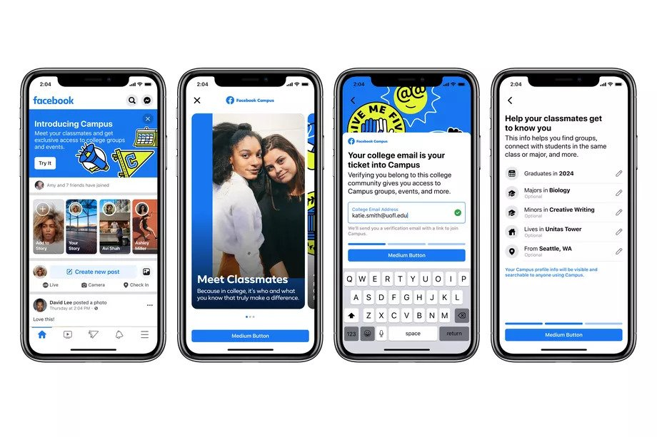 Facebook Campus a College Focused Section Launches across 30 Universities