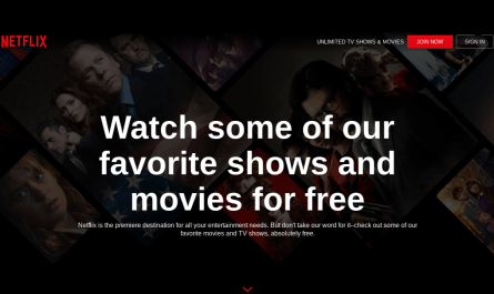Netflix offers some of its original movies and shows for free