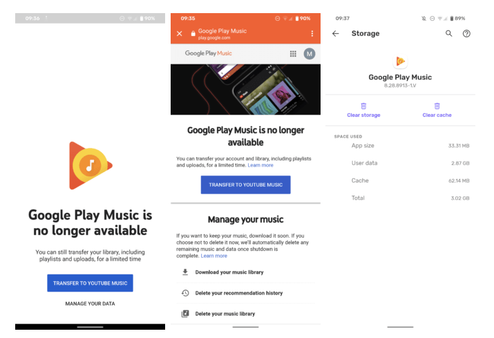 Google Play Music officially shuts down
