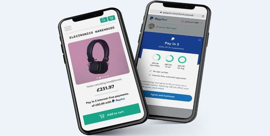 Shoppers in the UK can Now Take Advantage of PayPal's 3 Payment Installment Plan