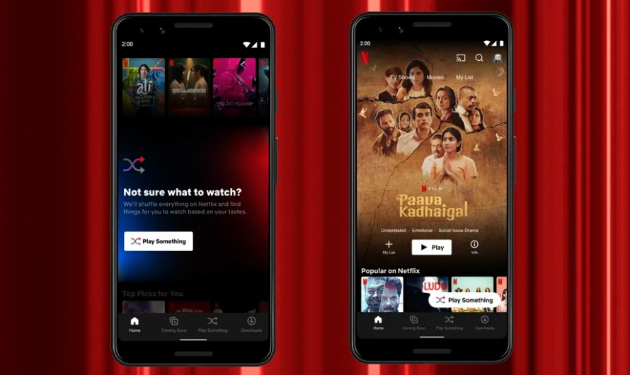 Netflix Subscribers can Now Access the Streamer's 'Play Something' Feature on Android Devices