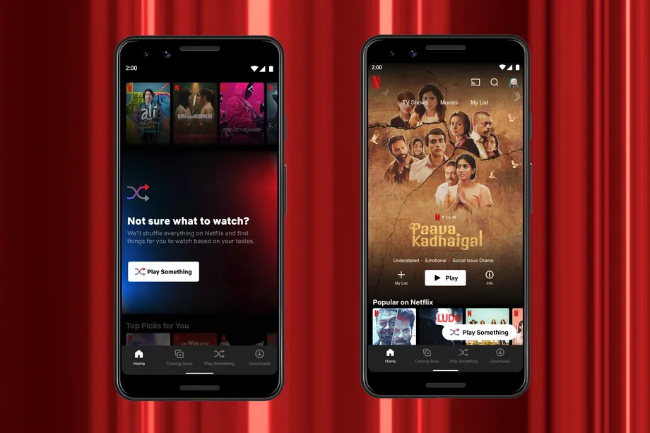 Netflix's Play Something Option is Now Available on Android