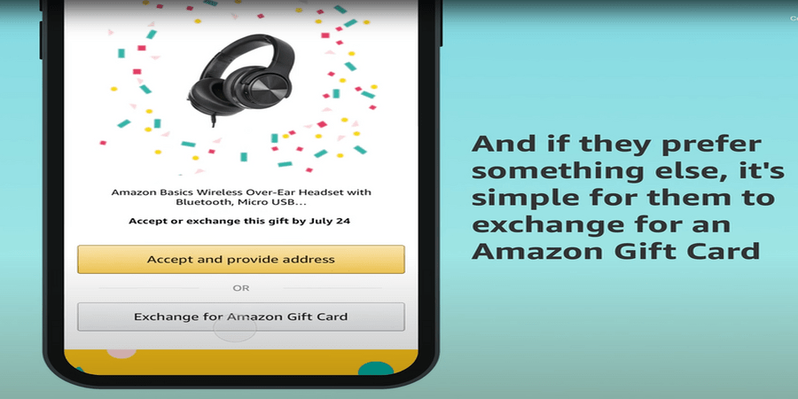 New Amazon Prime Member Feature Lets Gift Recipients Provide their Own Address or Opt for an Exchange