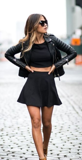 Fashion inspiration skater skirt