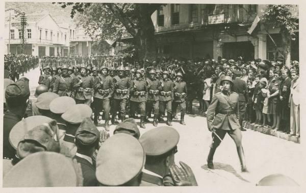 Παρέλαση στην Ξάνθη το 1943