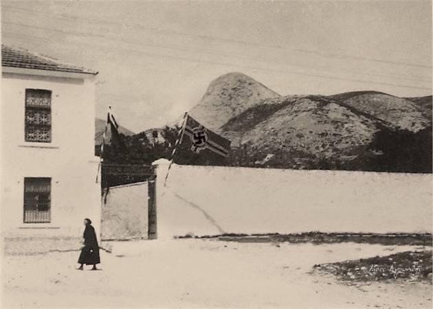 Η είσοδος Αμερικάνικη εταιρίας GARY TOBACCO COMPANY ακριβώς απέναντι από το ΙΚΑ. Κατά την Βουλγαρική κατοχή το κονάκι που υπάρχει στο εσωτερικό του μεγάλου οικοπέδου ηταν έδρα του Γερμανού τοποτηρητή