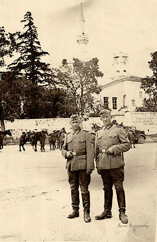 Γερμανοί Αξιωματικοί σε αναμνηστική φώτο