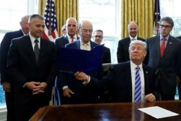 Organizações ambientais processam Trump