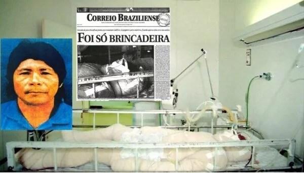 Para que ninguém se esqueça: Há 24 anos, Galdino Pataxó era queimado vivo em Brasília