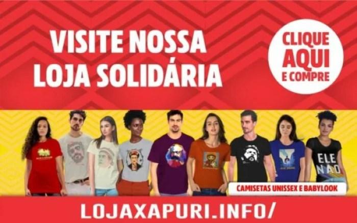 loja Xapuri camisetas
