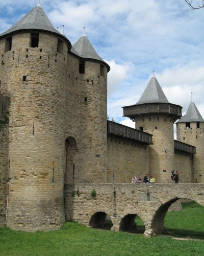 Carcassonne France fortified city